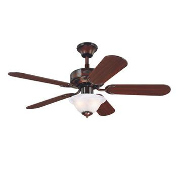 Westinghouse Lighting 7826765 Richboro 42-Inch Rustic Bronze Ceiling Fan