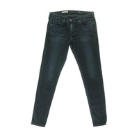 Adriano Goldschmied Womens The Absolute Low-Rise Stretch Denim Leggings