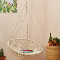 Macrame' Hanging Chair Topanga - Over Sized Item