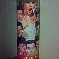 "Taylor Swift Ex-Boyfriends Prayer Candle With ""Mine"" Quote"