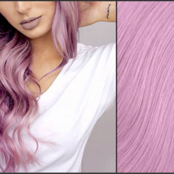 MAUVE PINK PASTEL Semi-Permanent Vegan Hair Dye 8 oz.