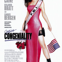 Miss Congeniality 11x17 Movie Poster (2000)