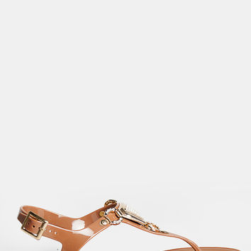 T-Strap Jelly Sandals