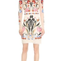 Temperley London Toledo Fitted Tulle Dress
