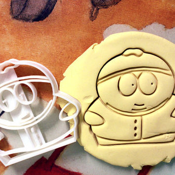 Eric Cartman South Park Cookie Cutter - Made from Biodegradable Material