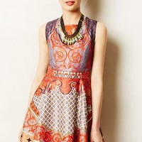 Twilight Temple Dress by Pankaj & Nidhi Red Motif