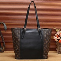 LV Women Shopping Bag Leather Tote Satchel Shoulder Bag Handbag Crossbody