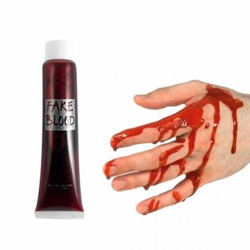 Halloween Costume Party Artificial Edible Fake Blood plasma The Film And Television Props Makeup Cosplay Makeup