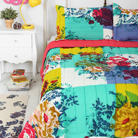 Urban Outfitters - Plum & Bow Overdyed Floral Quilt