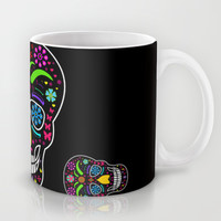 Skull Mug by Mark Ashkenazi