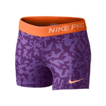 "Nike Pro 3"" Core Compression Allover Print Girls' Shorts"