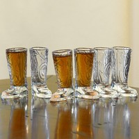 Cowboy Up Shot Glasses Set, 6-Piece