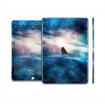 The Blue & Gold Glowing Star-Wave Skin Set for the Apple iPad Air 2