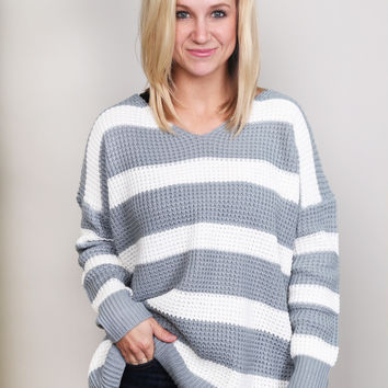 All That Is Striped Sweater