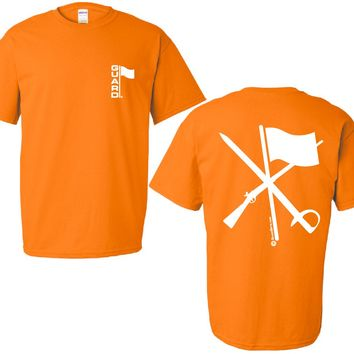 T Shirt for Color Guard or Winter Guard in Orange