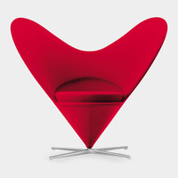 Miniature Chair, Panton Heart-Shaped Cone