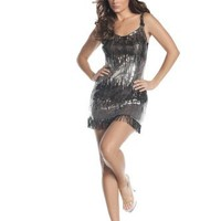Mystery House Burlesque Flapper Dress