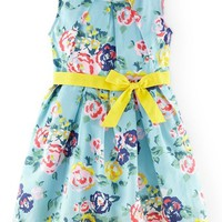 Girl's Mini Boden 'Vintage' Two-Piece