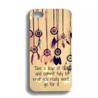 Colorful Charming Dream Catcher Hybrid Hard Back Case Cover For Apple iPhone 4 4G 4S (AT&T, T-Mobile, Sprint, Verizon)