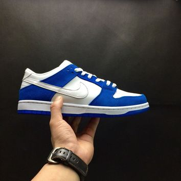 wholesale dealer 01ab4 ae65c  Free Shipping   Mens Nike Dunk Low Pro SB Ishod Wair Blue Spark
