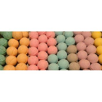 Sale Bath Bombs-Made with Coconut Oil-Variety of Colors and Fragrances-Sensitive Skin-Perfect for Kids