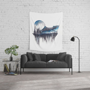 Abstract nature Wall Tapestry by Marco Gonzalez