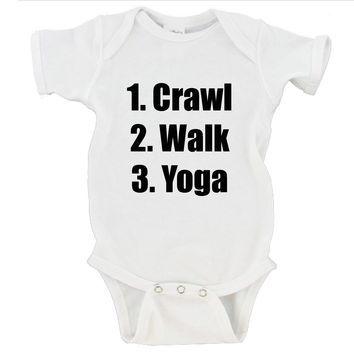 Crawl Walk Yoga Gerber Onesuit ®