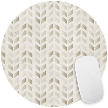 Stamped Chevron Mouse Pad Decal