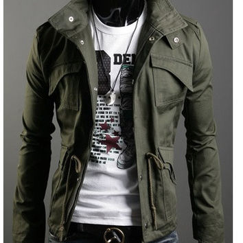 Men's Military Fashion Jacket