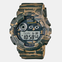 Casio G-Shock Gd 120cm 5er Watch - Green Camo at Urban Industry