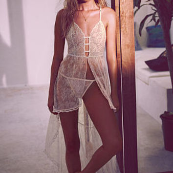 High-Low Lace Gown - Very Sexy Luxe - Victoria's Secret
