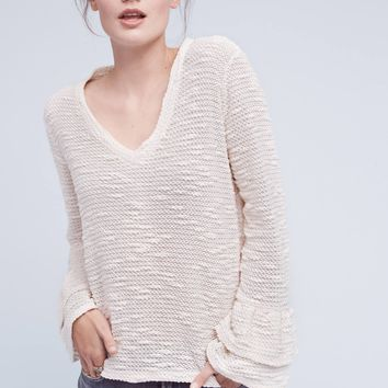 Maven Ruffled-Sleeve Top