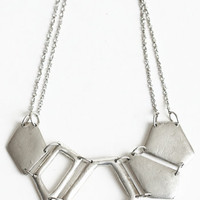 Alcaeus Pewter Necklace - $19.00 : ThreadSence.com, Your Spot For Indie Clothing  Indie Urban Culture