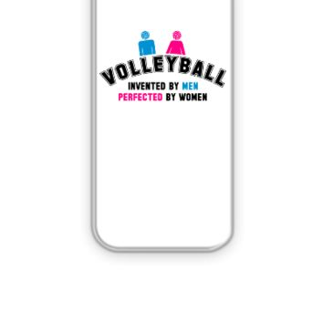 Volleyball invented by men, perfected by women - iPhone 5&5s Case