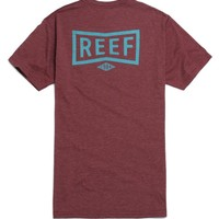 Reef Shop T-Shirt - Mens Tee - Red