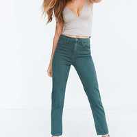 BDG Girlfriend High-Rise Jean - Green - Urban Outfitters