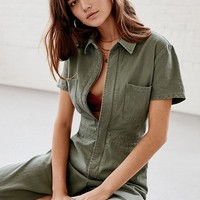 UO Canvas Flight Jumpsuit | Urban Outfitters