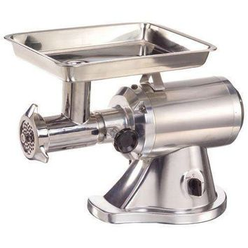Commercial Kitchen Countertop Electric Meat Grinder #22 1.5 HP