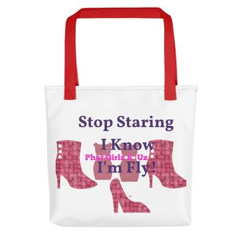 Custom Sassy and Colorful Tote Bag