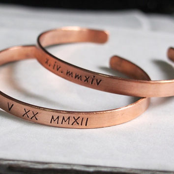 Personalized bracelets for women, Roman numeral bracelet, Personalized jewelry for women, Gift for mom, Bracelet for women Personalized Gift