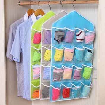 Shelf Hanging Bedroom Wall Door Closet Storage Net Kids Toy Organizer Bag