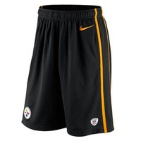 Nike Pittsburgh Steelers Team Issue Shorts - Black