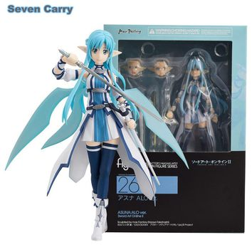 Anime Sword Art Online Figma 264 Yuuki Asuna Undine Special PVC Action Figure Collectible Model Toy 15cm CSDC6
