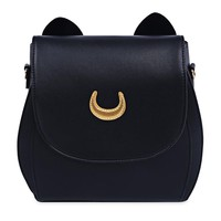 Fashion Ladies Bag Cute Sailor Moon PU Leather Women Shoulder Rucksack Handbag Mom Backpack Baby Diaper Bag Brand Mommy Bags