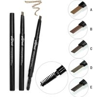5 Colors 24 Hours Long-lasting Eyebrow Pencil Soft And Natural Fashion Eye