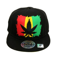 Hip Hop RASTA MARY JANE SNAPBACK CAP Hat One Size UNISEX-Multi-Color