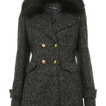 Textured Military Coat - Clothing  - New In