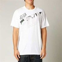 Fox Racing Torch Pass T-Shirt in White for Men 13882-190