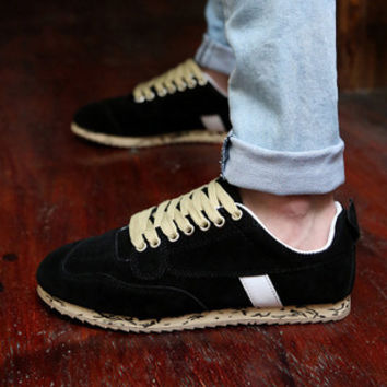 Mens Layered Style Sneakers