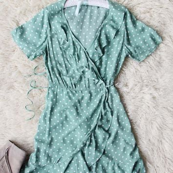 Astilbe Wrap Dress